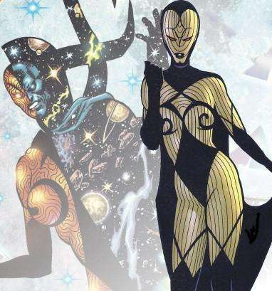 Infinity is the living embodiment of space in the Marvel Universe. Without her, nothing can exist. A version of her exists in every universe and is overseen by The Living Tribunal