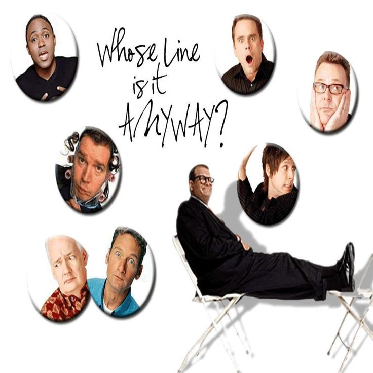 Whose Line Is It Anyway? | wallpaper | Pinterest | Wallpaper and Rock