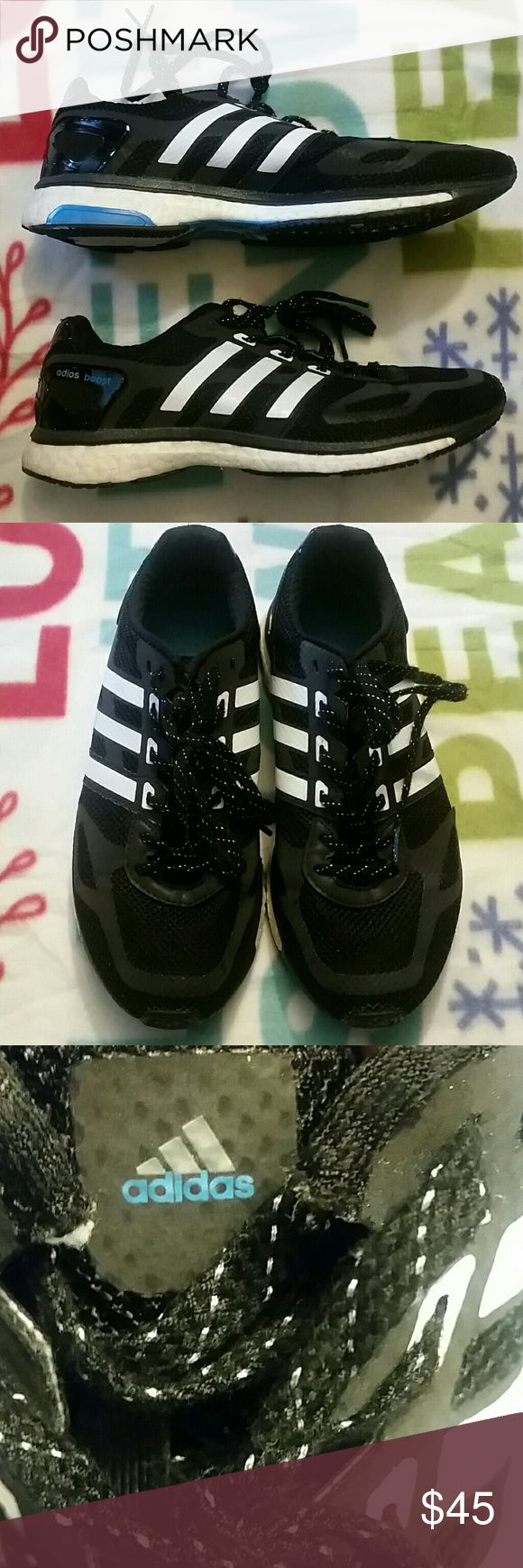 Womens Adidas Adios Boost Sneakers Good condition running/training sneakers from Adidas.Torsion system sneakers. A good buy for the price. adidas Shoes Athletic Shoes