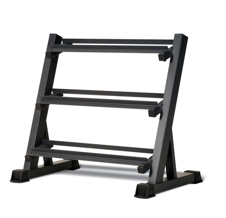 3 Tier Dumbbell Rack Hand Weight Holder Storage Organizer Home Gym Equipment New #Marcy