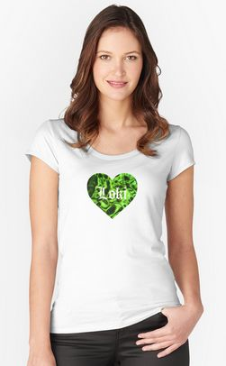 #Heart #for #women #fitted #scoop.