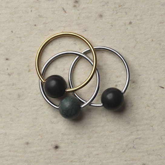 Céline geometric bracelets jewelry Fall/Winter 2013-2014