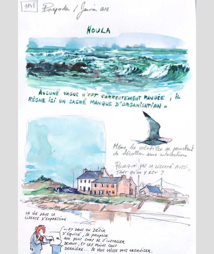 Une Bretagne par les Contours tome 10 / Parution juin 2018 ( Éditions de Dahouet) #bretagne #GR34 #unebretagneparlescontours #bzh #finistere #sketching #drawing #brittany#porspoder#breizh #sketchbook #drawingbook #drawingart#aquarelle#watercolorsketch#artwork via ✨ @padgram ✨(http://dl.padgram.com)