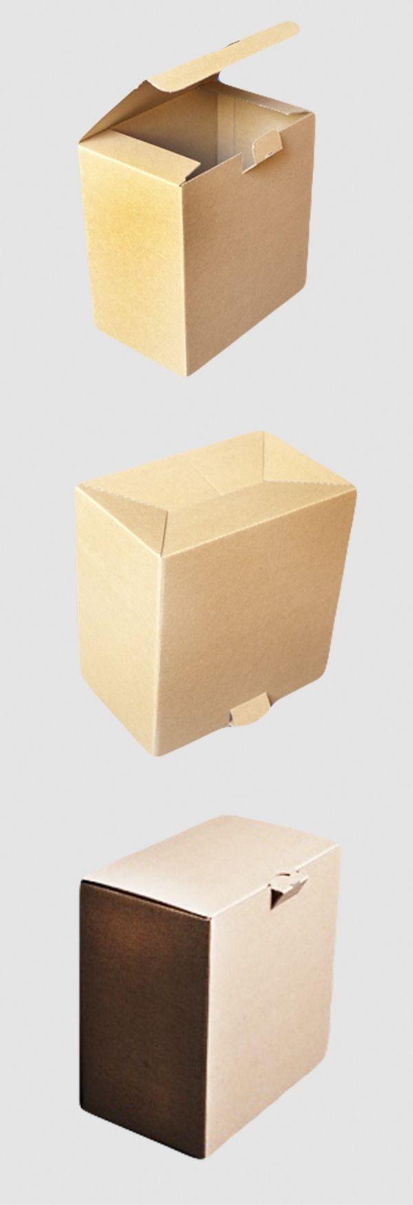 Die Zusammenfaltung von Karton geht in nur 4 Schritten. Die Versandverpackungen werden flachliegend und ungefaltet angeliefert und sind schnell und leicht aufzurichten.   #karton #klappdeckel #versandkarton #faltkarton #strechfolie #luftpolstertasche #versand