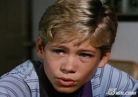 Paul Walker was young.....like as a kid.