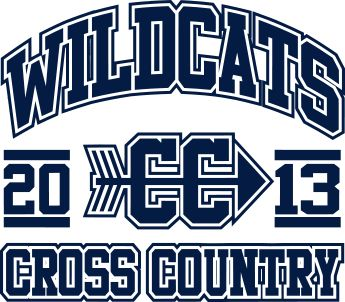 IZA DESIGN custom cross country shirts.  Cross Country School T-Shirt Design - Few and Proud (desn-491f2).  Specializing in custom cross country tshirts and designs since 1987!