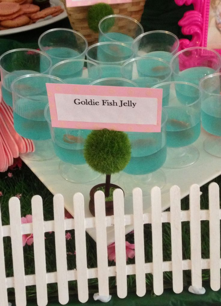 Peppa Pig Party - Goldie Fish Jelly