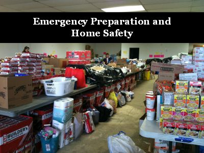 If you're prepping, this site seems to have a lot of information. Emergency Preparation and Home Safety