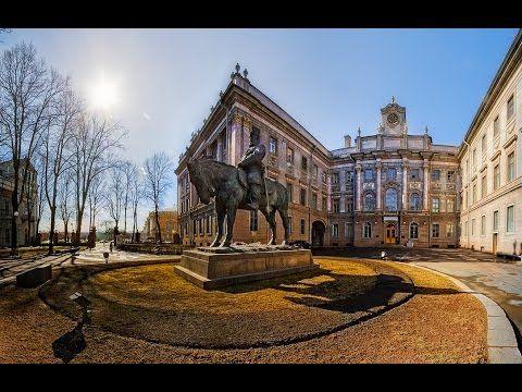Мраморный дворец, Санкт-Петербург. Достопримечательности города на Неве....