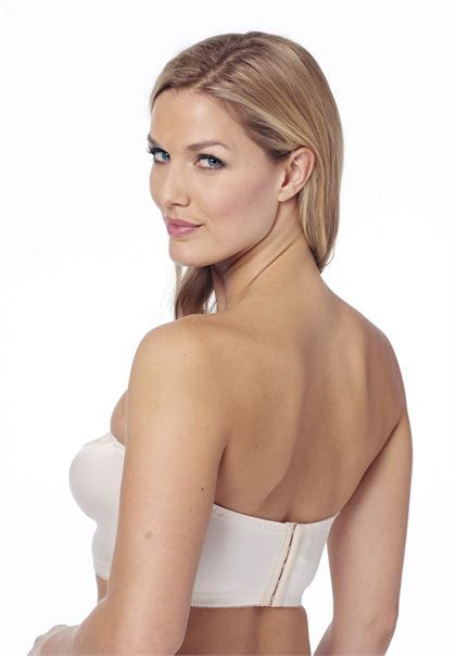 Stay-in-place strapless bra by Glamorise® | Plus Size Strapless - Convertible Bras | Woman Within