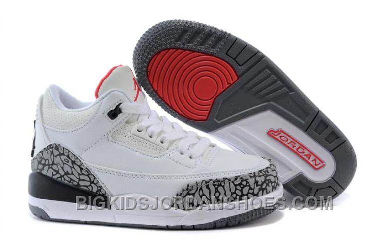 http://www.bigkidsjordanshoes.com/kids-air-jordan-iii-sneakers-220-new.html KIDS AIR JORDAN III SNEAKERS 220 NEW Only $0.00 , Free Shipping!