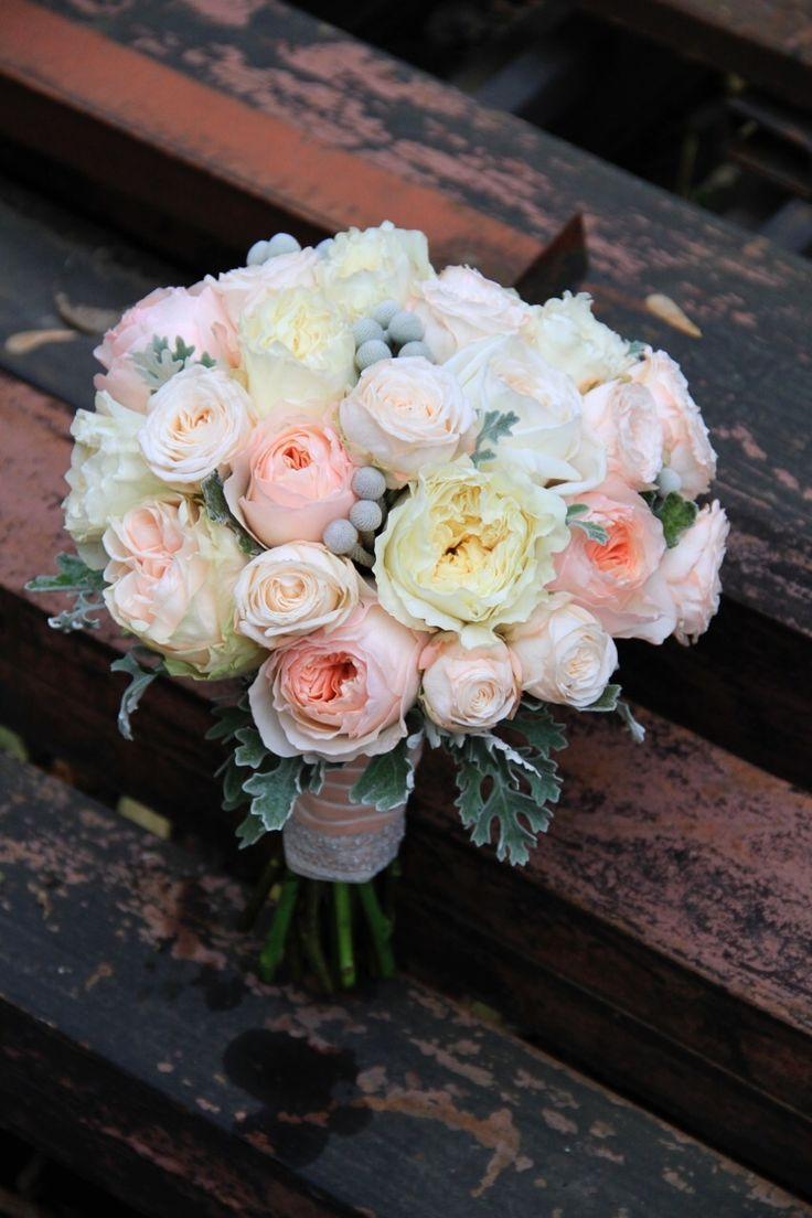 букет из пионовидных роз, Свадебное оформление и флористика, Букет невесты