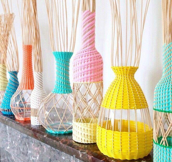 Веселенькие вазочки из просторов интернета