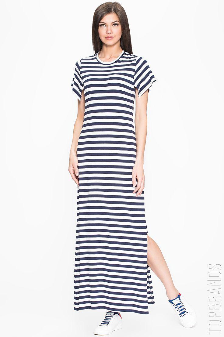Удлиненные платья футболки