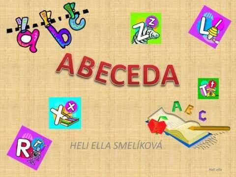 ABECEDA v slovickach - YouTube