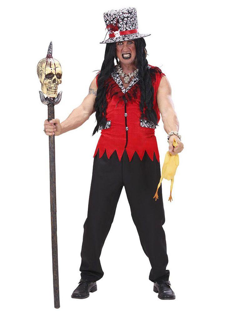 Voodoo priester kostuum voor mannen