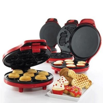 From cupcakes to donuts, bake up some sweet family fun with these kitchen cooking tools. #holiday #gifts