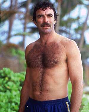 Tom Selleck, Better known as the man who could grow a 'stache without looking like a total creeper.