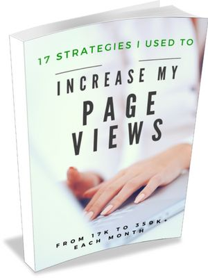 Blog Traffic Report - February 2017 - This ebook helped me get over a big traffic slump and break the 200,000 page views mark!!