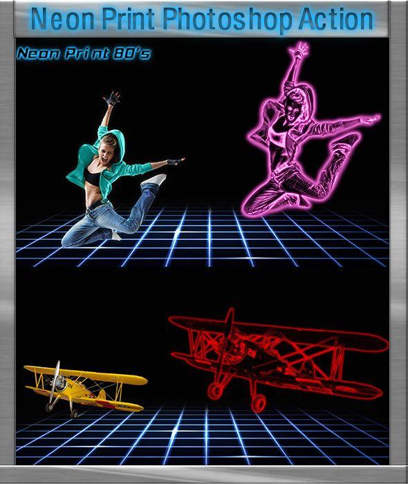 GraficAction | Neon Print Action