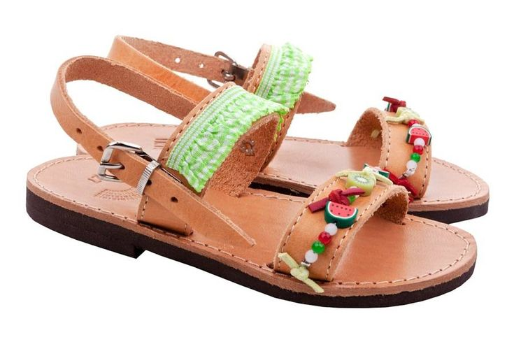 Fruity Breeze Girl's Handmade Sandals