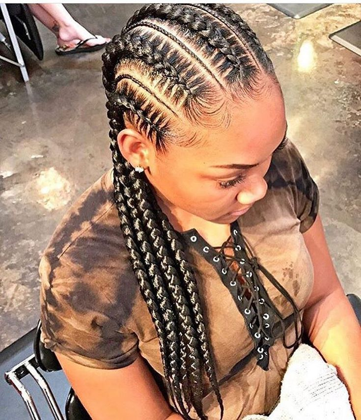 Sublime 50+ Best Cornrow Hairstyles https://www.fashiotopia.com/2017/06/19/50-best-cornrow-hairstyles/ Cornrow hairstyles are a conventional manner of braiding the hair near the scalp. It is also possible to choose and produce your own innovative hairstyles. Long single braid hairstyles are created on hair a little beneath the shoulder. #CornrowsHairstyles #blackhairstylescornrows