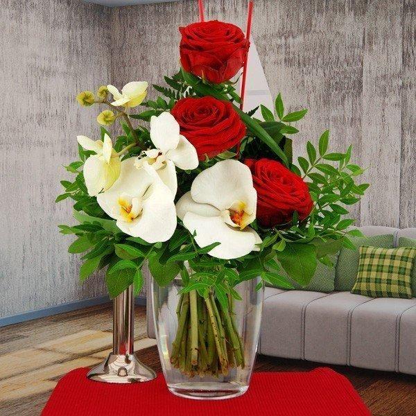 Der Blumenstrauß Exotische Überraschung eignet sich als Blumengeschenk, wenn es…