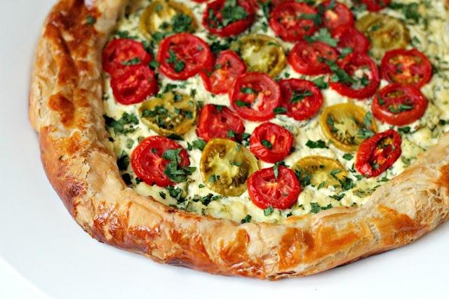 Ricotta and Tomato Tart | Main Dishes | Pinterest