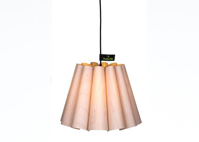 By Sandenholt Finér lampe - Tinga Tango Designbutik Dansk lampedesign