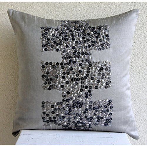 Antiquity - 35x35 cm Square Decorative Gray Silver Silk T... https://www.amazon.co.uk/dp/B00KU7VHEQ/ref=cm_sw_r_pi_dp_x_kVZHyb6PXTB7J