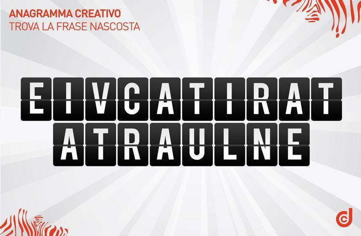 #anagramma #gioco #game #creatività