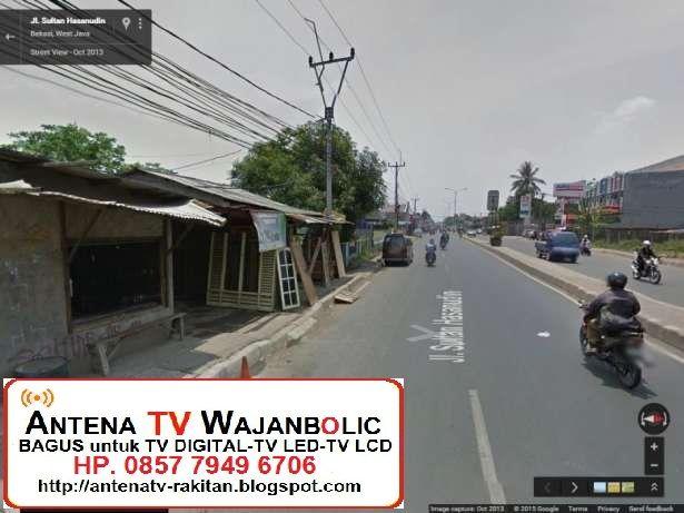 Jual ANTENA TV WAJANBOLIC 3M Jl. Hasanuddin  Tambun