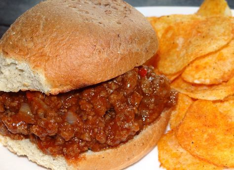 Whip up these gluten-free sloppy Joe's without a mix or name brand. Easily modified with most anything you have on hand...