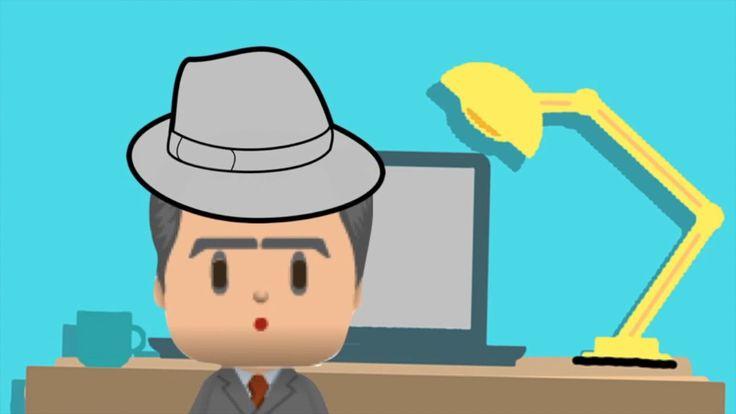 """BLOQUE 3: EL HOMBRECILLO VESTIDO DE GRIS. Vídeo creado en relación a la escena 2 del Storyboard ideado a partir del cuento """"O homiño vestido de gris"""", de Fernando Alonso"""