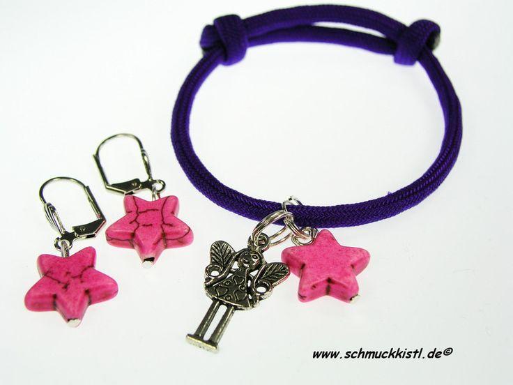 Schmuckset, individuell zusammenstellbar - bestehend aus Kinderarmband  und Kinderohrringem von www.Schmuckkistl.de auf DaWanda