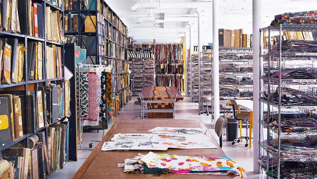 Ever wonder where designers get their patterns? Welcome to the colorful stacks of the Design Library.