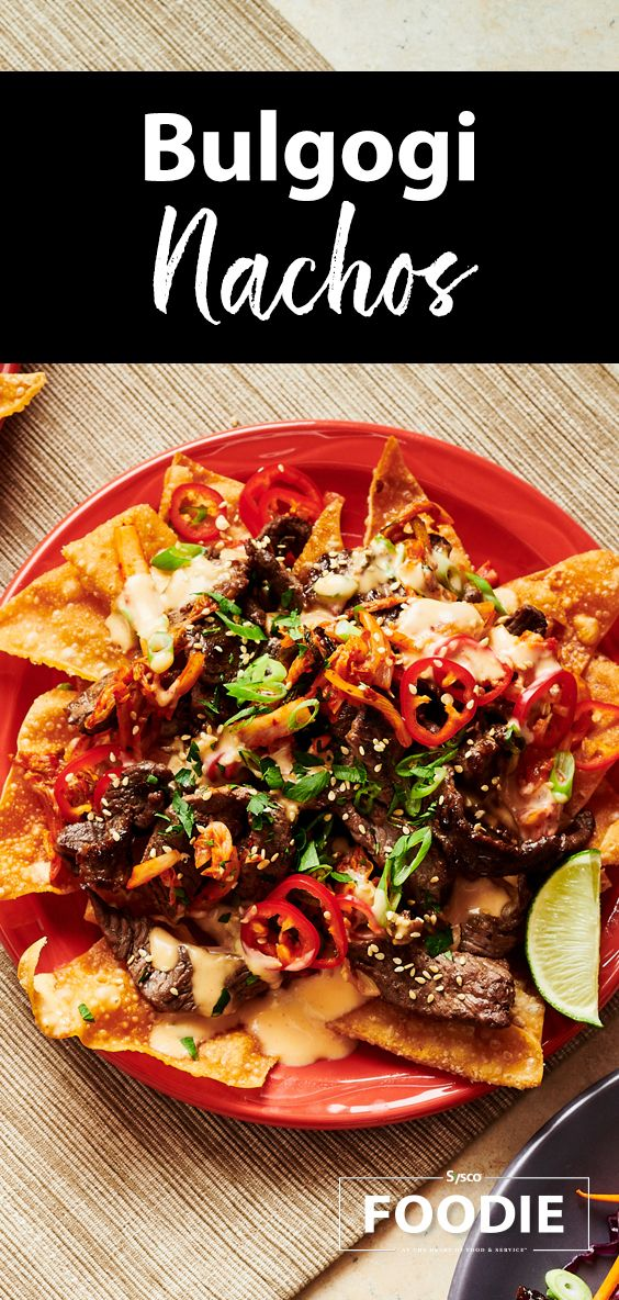 Bulgogi Nachos | Recipe | Bulgogi beef, Tasty ingredients