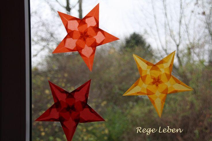 Reges Leben: Sterntaler im zweiten Jahr und andere Fenstersterne