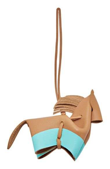 Fossil 'Horse' Leather Bag Charm available at #Nordstrom