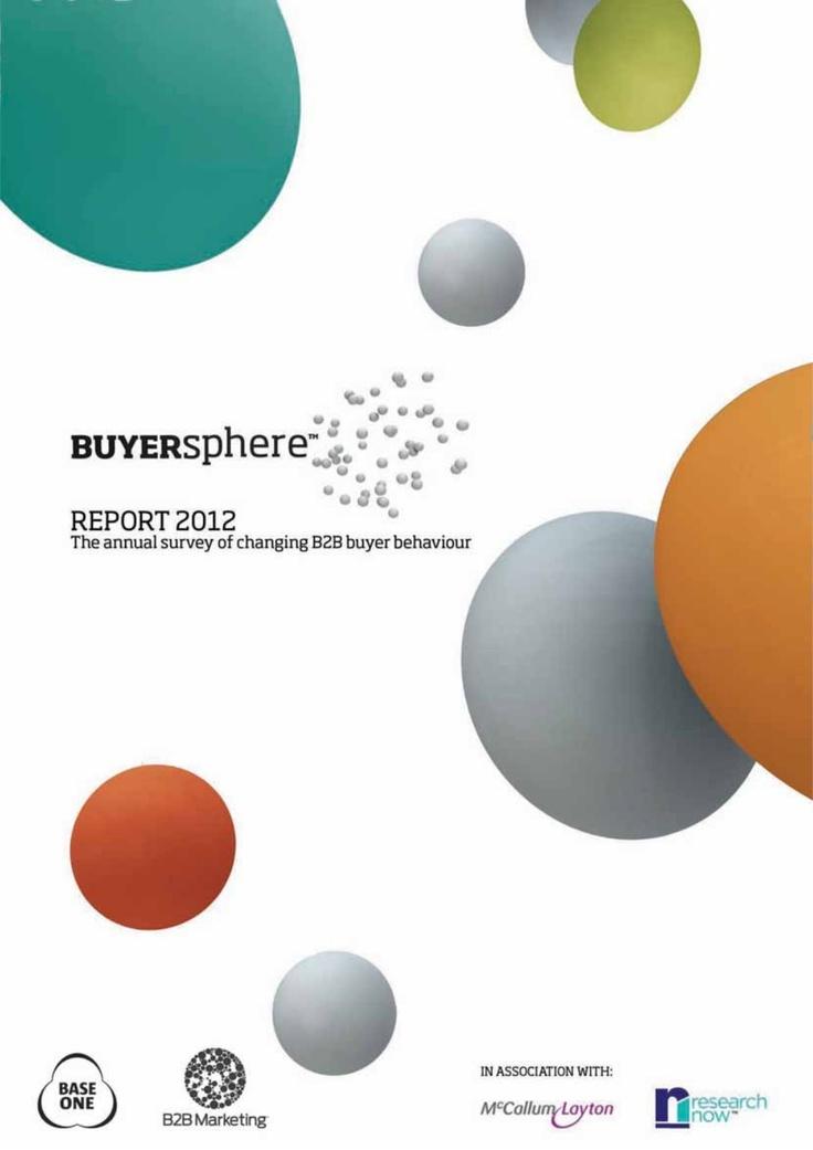 buyersphere-report-2012 by Jim Robins via Slideshare