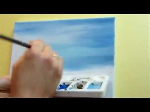 G. Tal - Tutorial 1, on painting the sky in acrylics. She mentioned all the colors needed. Love it!