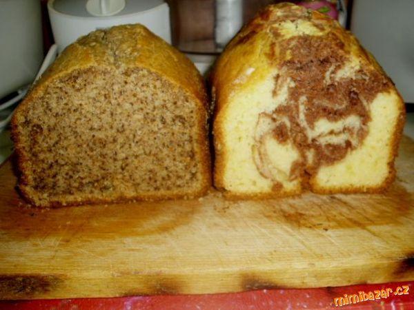 Všechny ingredience smícháme v pekárně (já mám moulinex xxl nastavení pekárny  program 10 moučníky k...