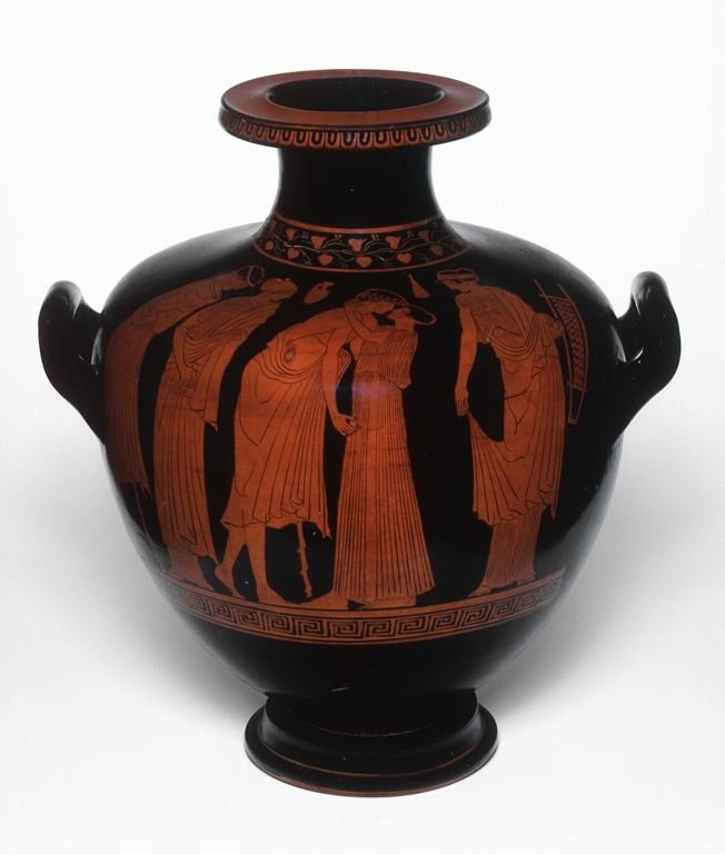 Greek, Attica Attributed to The Leningrad Painter Hydria (Water Jar), 460–450 B.C.
