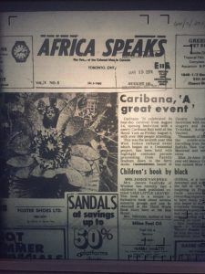 Caribana 8th annual celebration of West Indian culture in Toronto, 1974