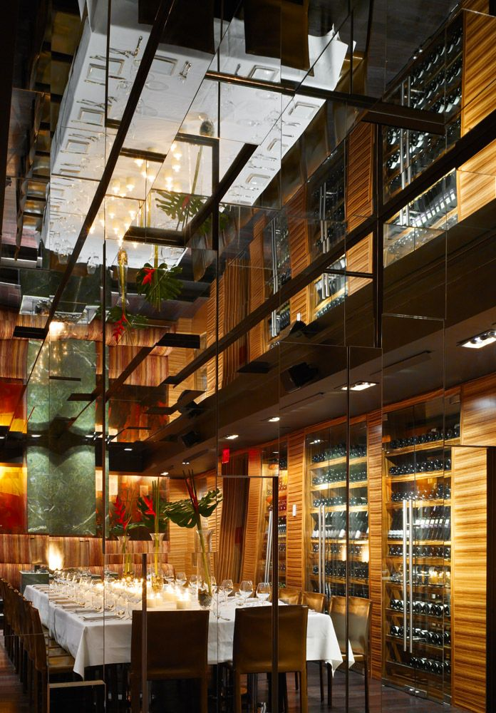 Sopra Upper Lounge, Toronto, Interior design by Munge Leung