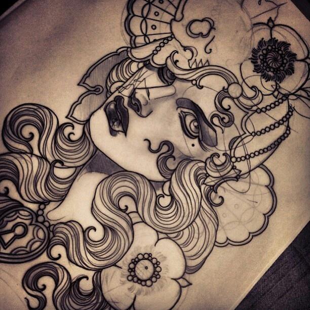 emily rose murray donne tattoo sketch pinterest emily rose art and roses. Black Bedroom Furniture Sets. Home Design Ideas