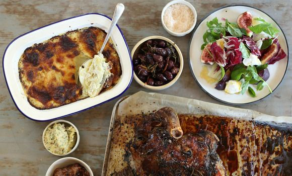 Roast Leg of Lamb with Anchovy and Garlic - Maggie Beer