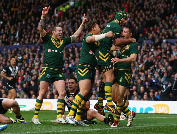 what channel is the rugby league world cup final on in australia