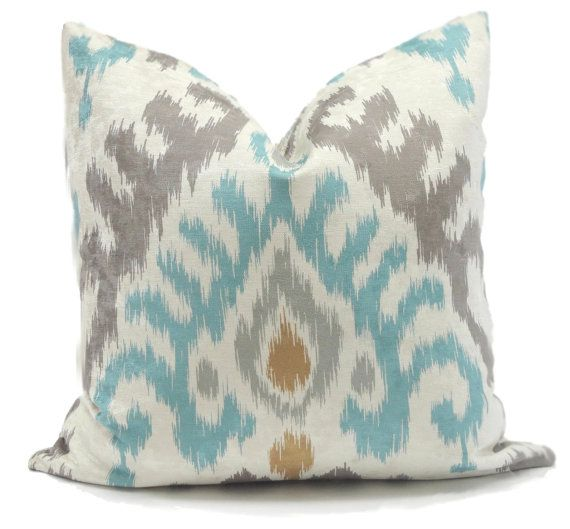 Throw Pillow Color Combinations : 10 best Aqua Turquoise Color Schemes images on Pinterest Accent pillows, Cushions and Lumbar ...