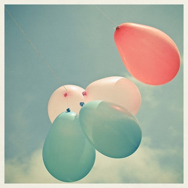 Holding on to a negative emotion?  Let it go!  Tip:  write a feeling, a person's name, a negative experience, etc., on a helium filled balloon ...let it go, and watch it float away :)